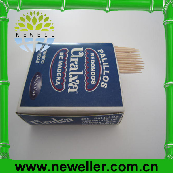 2014Natural good quality cello individual toothpick for turkey For Meal