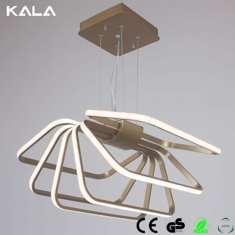 Modern Comtemporary Wave Led Pendant Lights Lamps Acrylic 90-260V Pendant Lamps