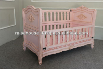 Indonesia Furniture - Antique Babybed