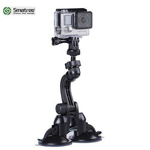 Smatree Wholesale Gopros Camera Accessories Car Windshield Suction Cup Camera Mount