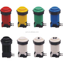American Style 28mm Multi Color Push Button for Arcade Game Machines