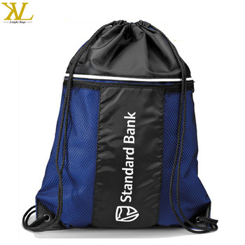 c7180d8ef98d Polyester or Nylon Sport Drawstring Gym bag