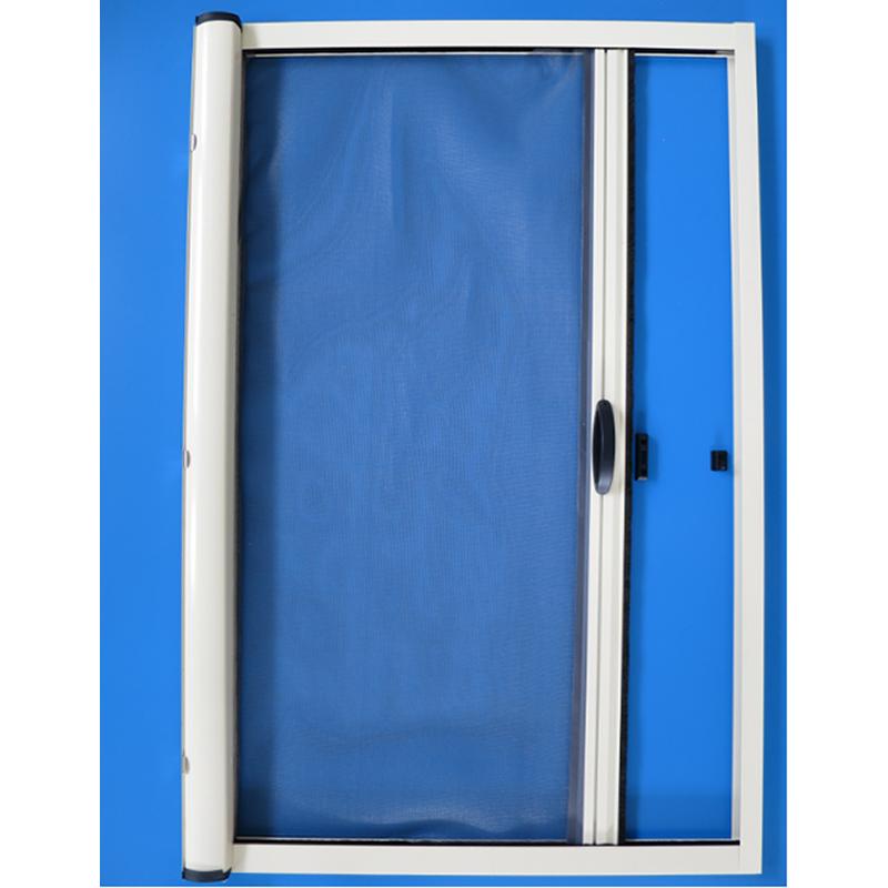 Aluminum Profile Roller Insect Mosquito Net Screen Door