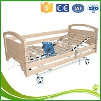 king size wooden 3 motor electric bed