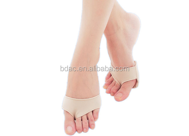 forefoot cushion sleeve with gel pad metatarsal guard