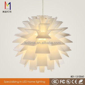 Brand new colorful jigsaw puzzle iq light modern PP hanging lamp with ce rohs
