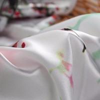 ECO-FRIENDLY flower printed wholesale poly 30d chiffon fabric Mercerized