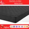 Black cheap spring mattress for home & hotel