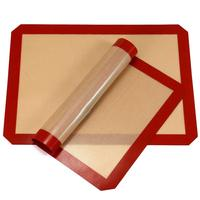 BPA Free FDA Approved Non Stick Cookie Sheet Liner Food Grade Silicone Baking Mats
