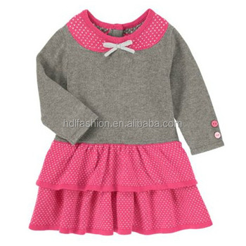 Latest Knitting Pattern Sweater Children Frocks Designs Buy
