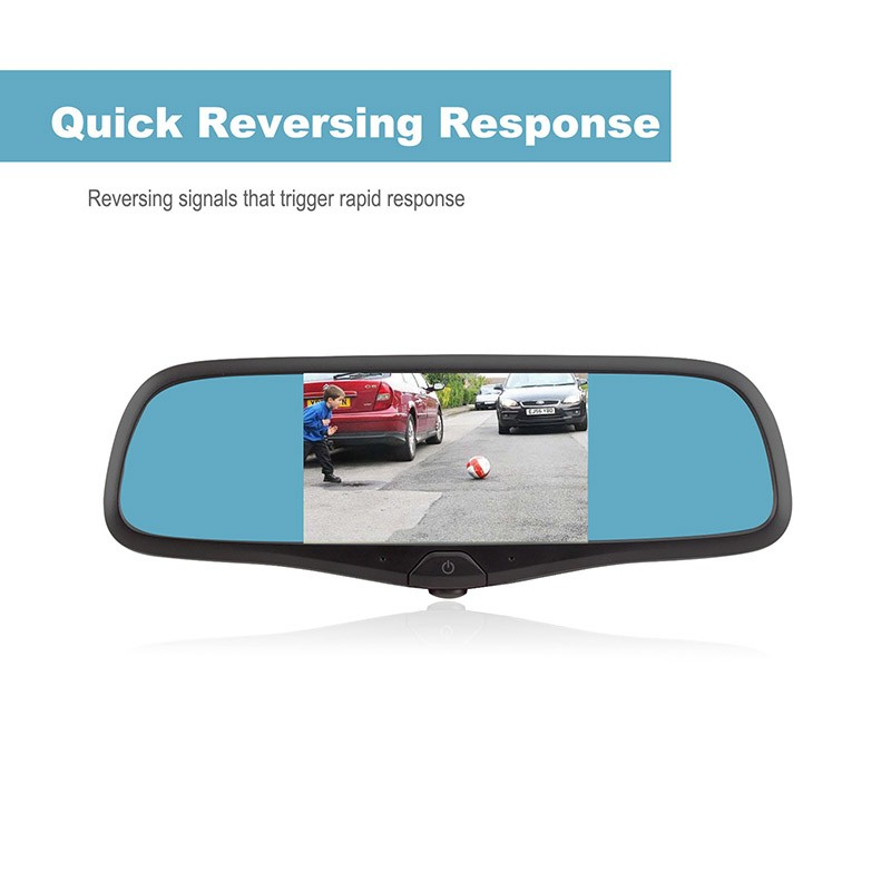 Rearview mirror gps rearview mirror car gps with dvr