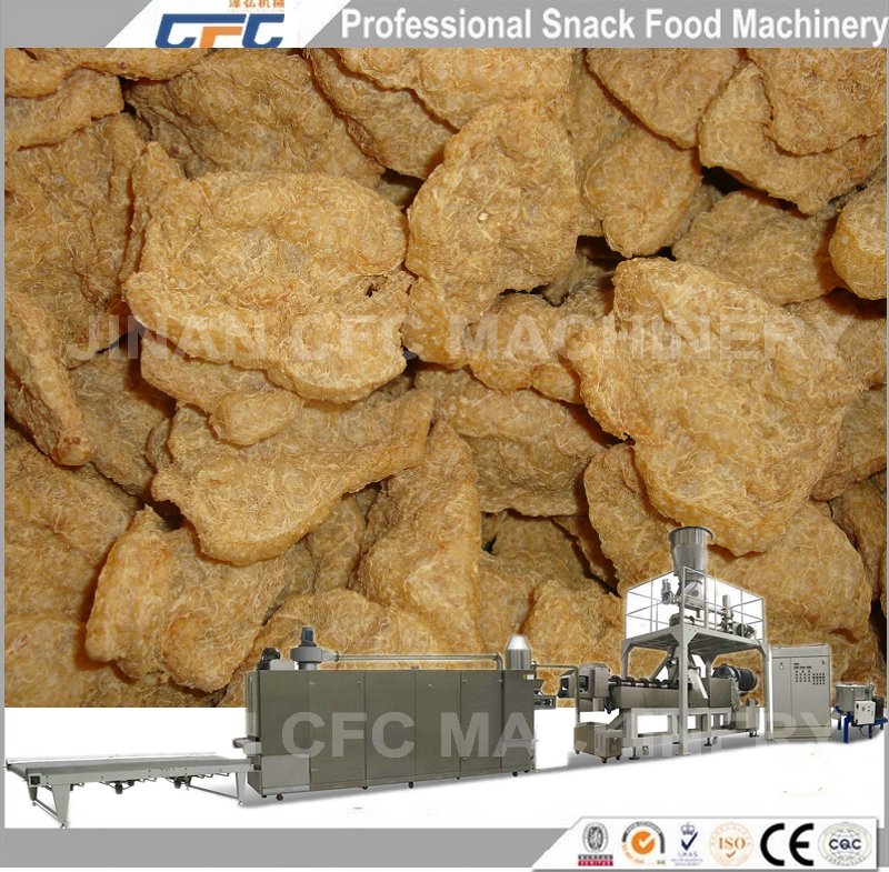 Best Quality Soya TVP/TSP/ISP Meat Analogy Protein Processing Machine