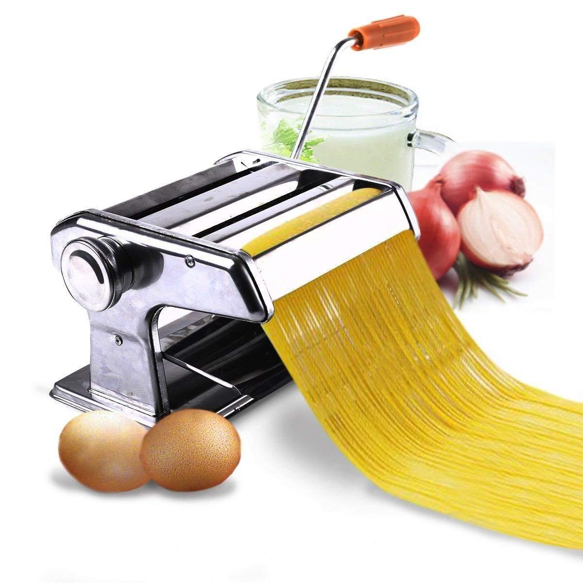 150mm 6inches Pasta Maker & Roller Machine Noodle Spaghetti&fettuccine Maker Health