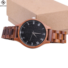 2018 fashion SOPEWOD brand high quality man women custom logo wholesale quartz wrist China factory wood watch