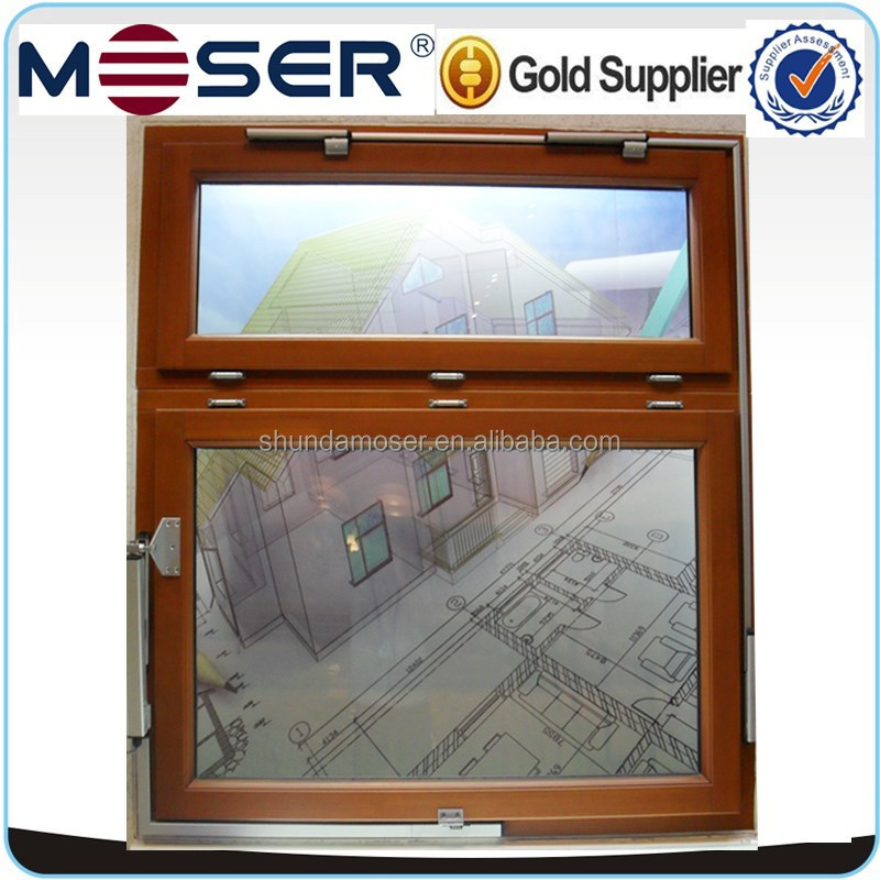 Solid wood automatic opening window