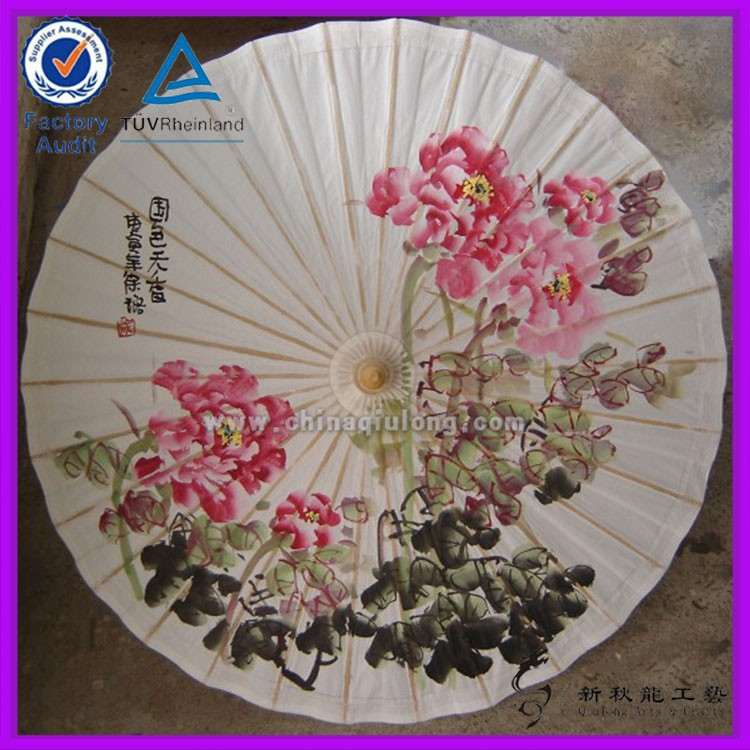 how to make chinese paper parasols