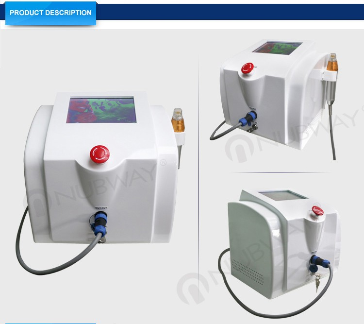 Professional home use fractional rf microneedle machine for facial care & skin rejuvenation