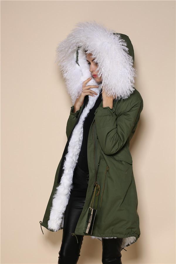 Grote Maten Mode Jassen : Parka en tama?os m?s chaqueta para las mujeres