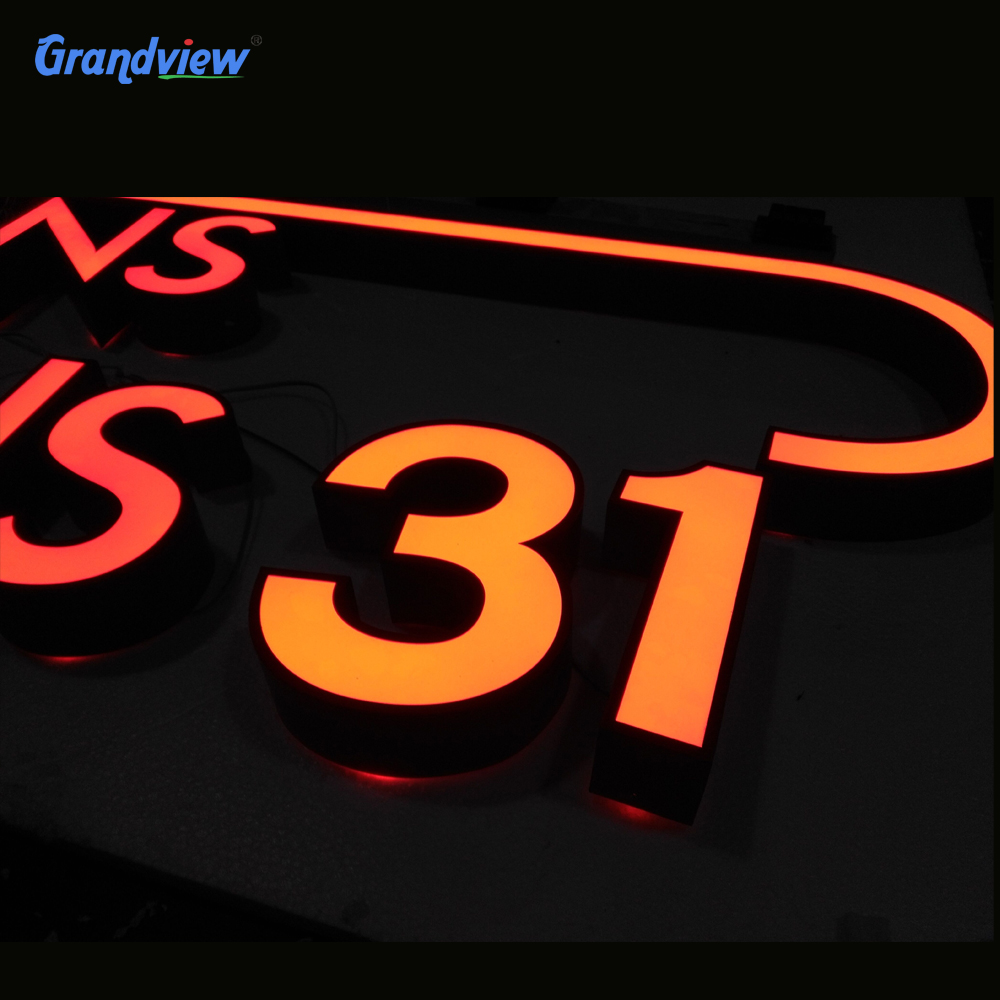 LED light letter standing sign,acrylic free standing letters,popular led big letter sign