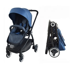 Cheap 2-in-1 High Landscape Lightweight Foldable Baby Stroller Pram