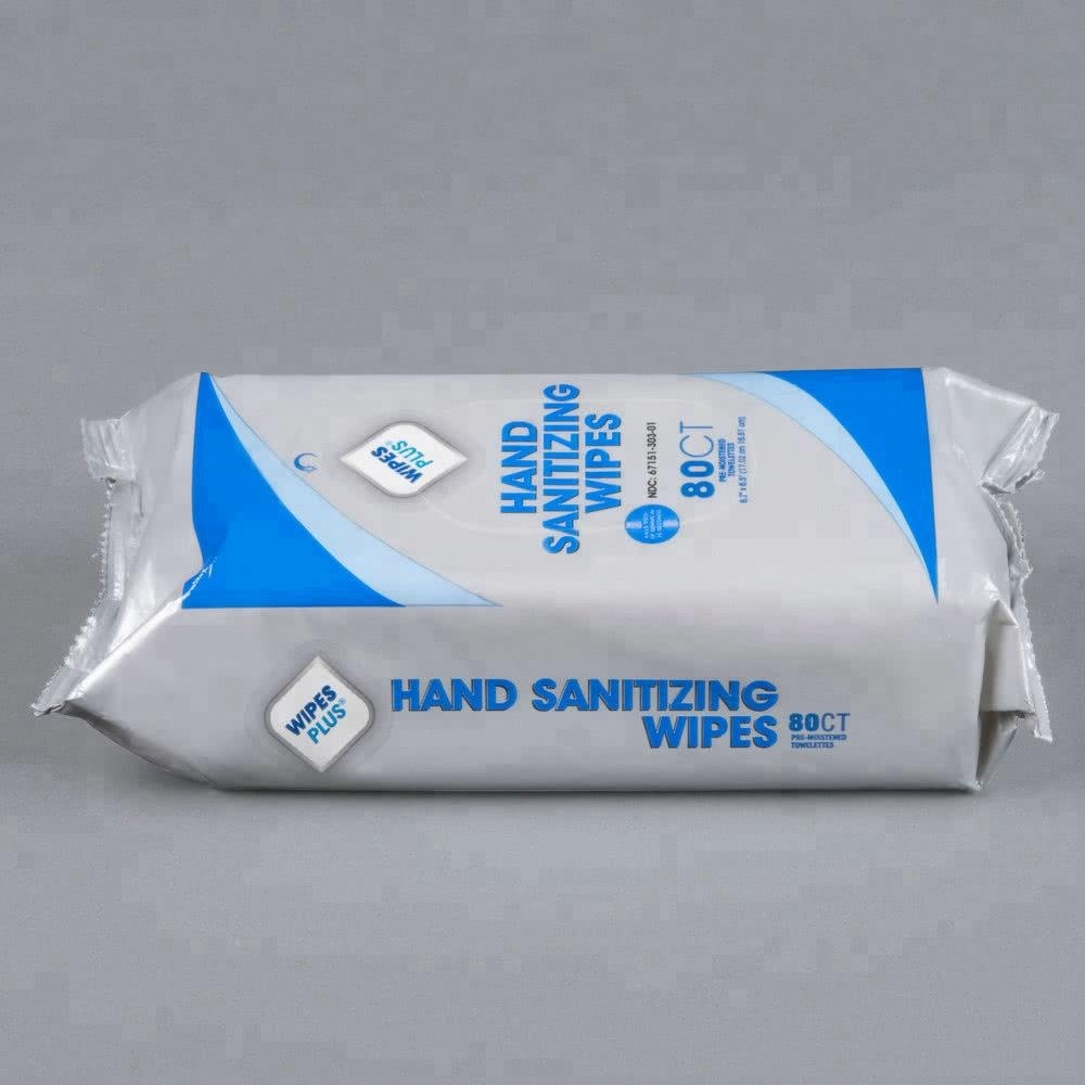 Biokleen Instant Hand Sanitizing Wipes for Hospitals