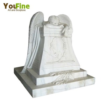 Beau Life Size Weeping Angel Garden Statue
