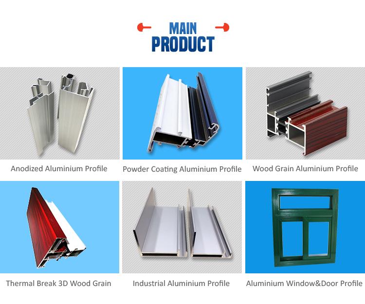 Prezzo basso industriale lucidatura meccanica profili in for Finestre in alluminio anodizzato