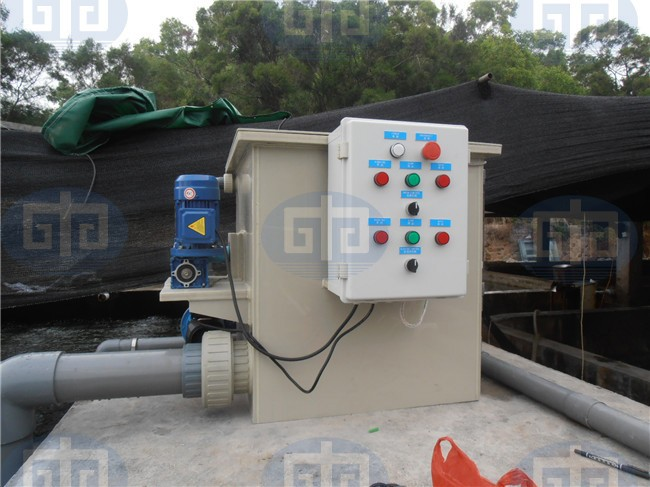 Aquaculture systems intensive fish farming buy intensive for Koi pond rotary drum filter