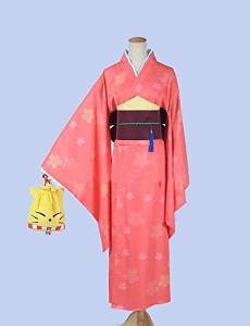 FW@ Silver Fairy City Chick Printing Fake Two Bathrobe Kimono , female , xl