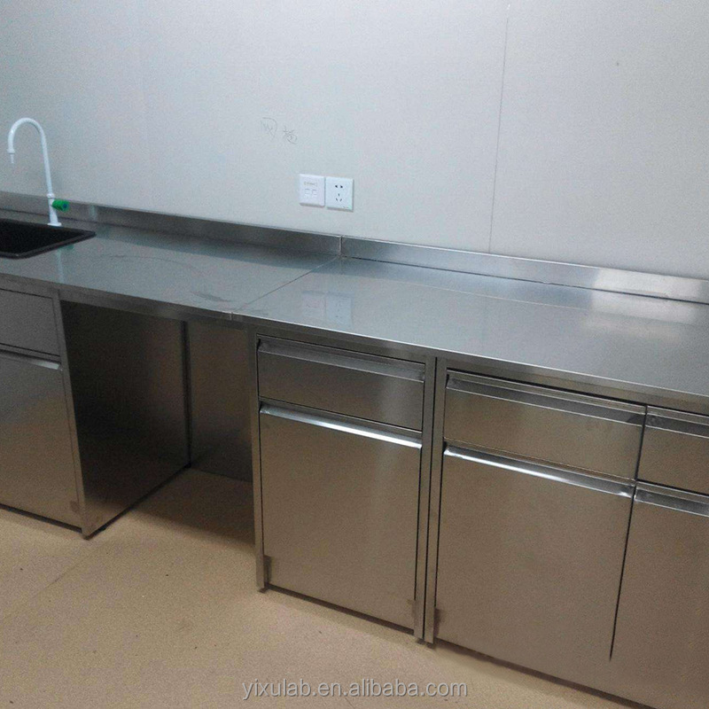 Durable stainless steel chemistry physics biology sink lab work bench