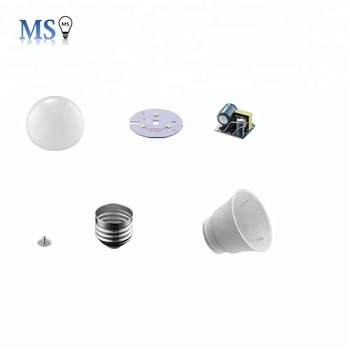 Manufacturer Supplier 3w led light bulb parts