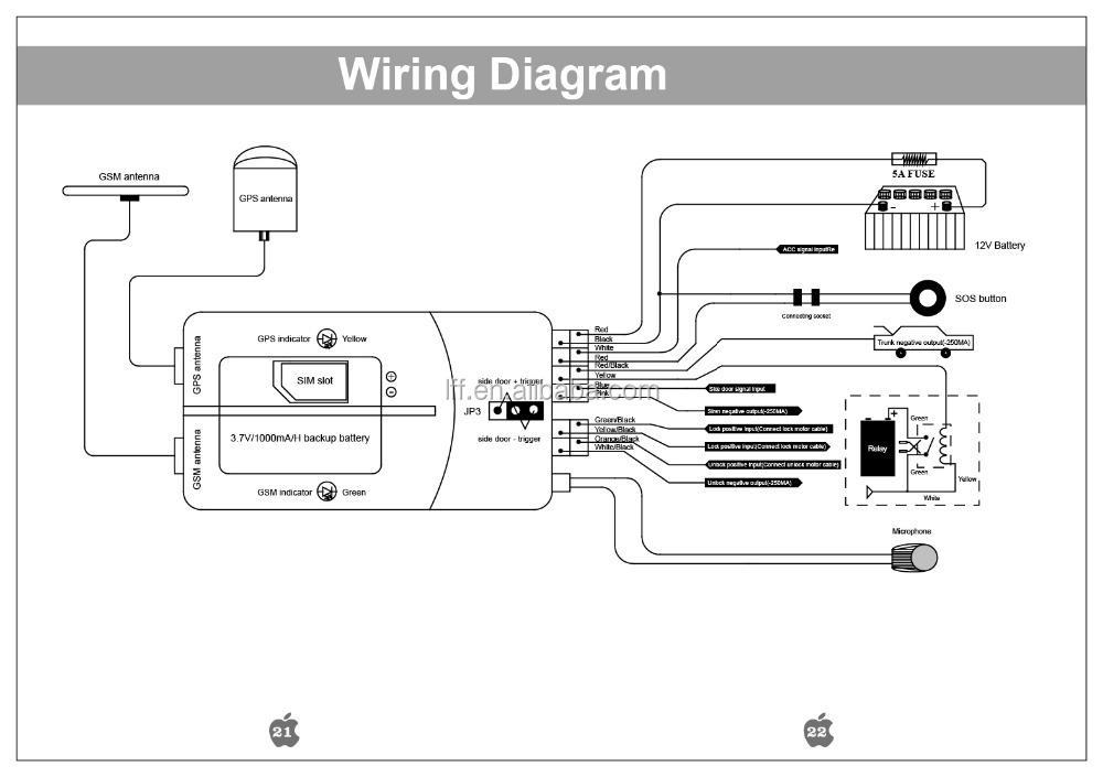 excalibur car alarm wiring diagram
