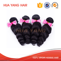 Wholesale Virgin Hair No Chemical Processed Blossom Bundles Virgin Hair Tangle Free Shedding Free
