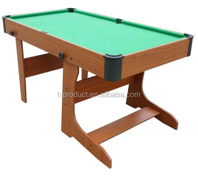 Facile Montare Pieghevole Up Snooker Biliardo Tavolo Da Biliardo 5ft ...