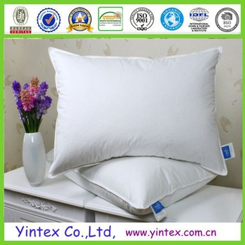 royal hotelu0027s goose down pillow 500 thread count egyptian cotton king size