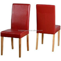 2015 Made in China Customized Wholesale Modern Compact Solid Wood Leather Living Room Dining Chair/Wooden Furniture Chair
