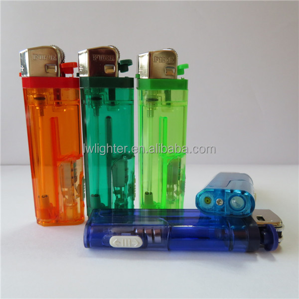 82mm Flint Plastic Rechargeable LED Oil Lighter