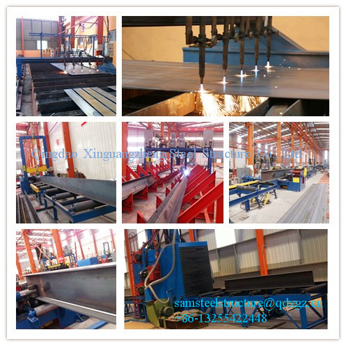 Precision iron steel structure warehouse building