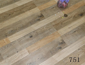 Wood Types Of High Gloss 12mm HDF Commercial Laminate Flooring 15 Years Warranty