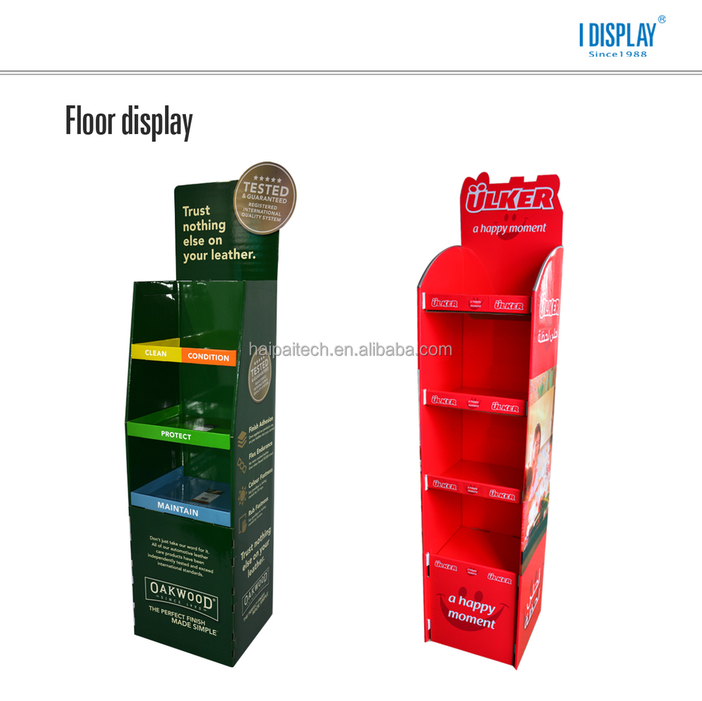 House Shape Store Toothpaste Promotion Display Box,2 Side ...