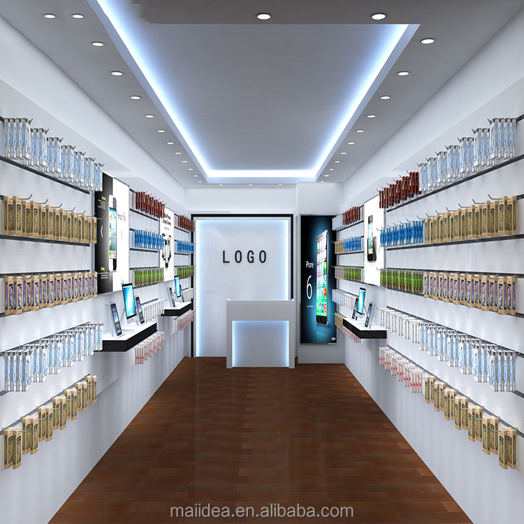 Modern mobile phone store furniture design/mobile phone store interior design for retail shop