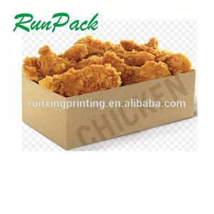 Disposable frozen chicken leg quarters in box roasted chicken and chips box