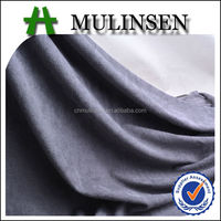 Mulinsen Textile Competitive Price Polyester Spandex Weft Knit High Quality Suede Fabric