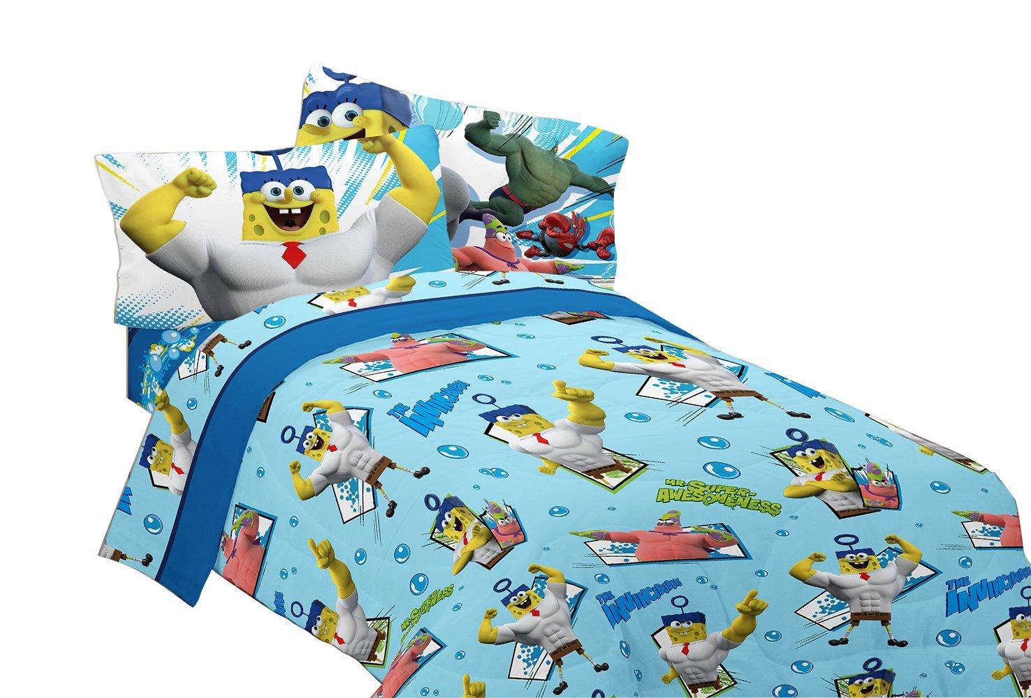 Nickelodeon Sponge Bob Mr. Awesome Twin Sheet Set