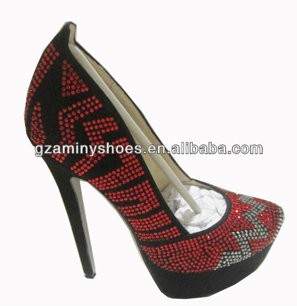 Newest leather heels high shoe with 2013 TgqUwT