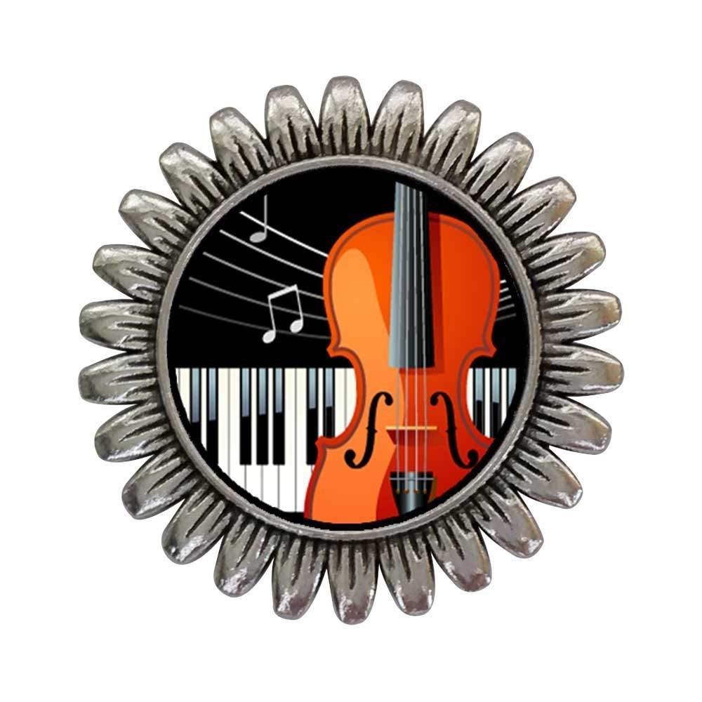 Sterling Silver Girls .8mm Box Chain Violin Or Cello Pendant Necklace