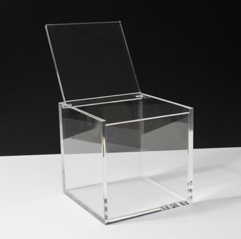 Custom Clear Acrylic Storage Box With Lid Buy Acrylic Boxes With