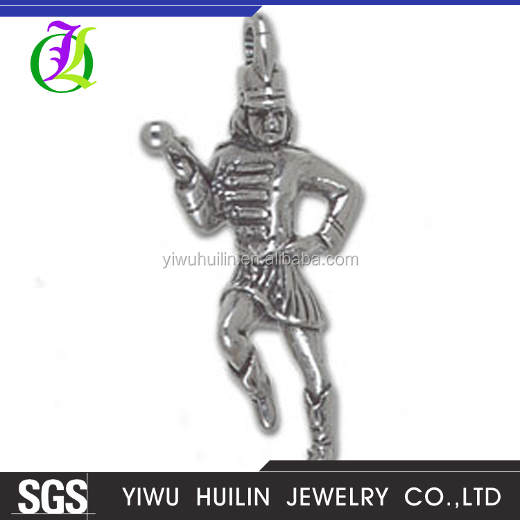CN186373 Yiwu Huilin jewelry Vintage Style costume jewelry European royal knight Duke charms for bracelet