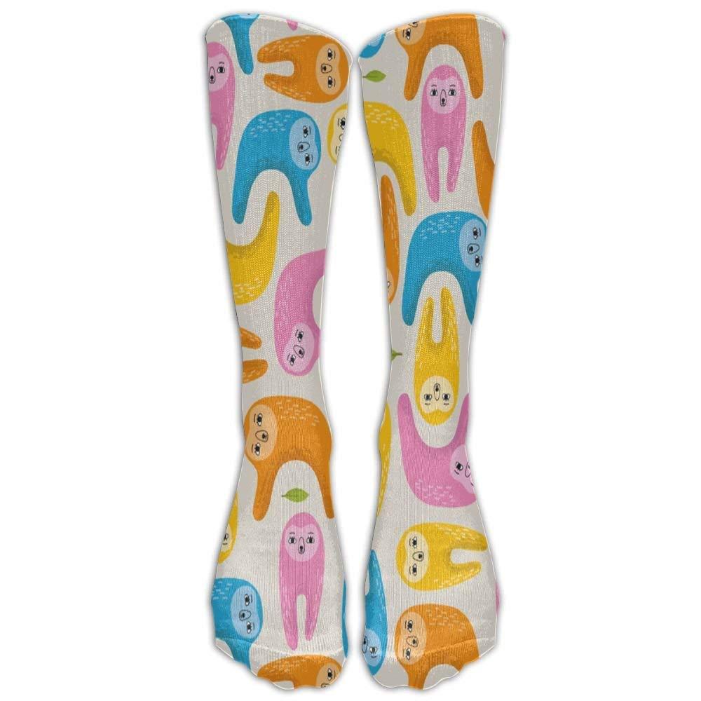 Mens Athletic Low Cut Ankle Sock Large Cartoon Sloth Short Comfort Sock