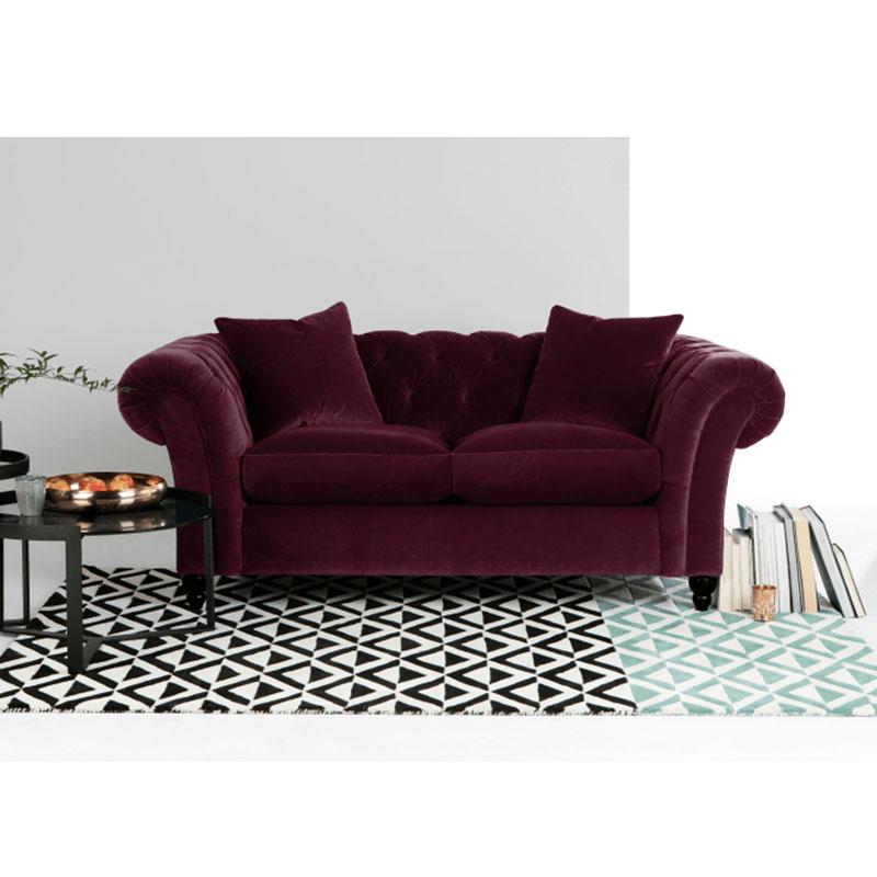 Dubai Sofa Furniture Traditional Luxurious Style Chesterfield Sofa
